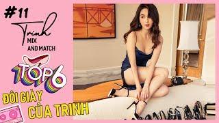 Ngọc Trinh - Mix And Match #11 | Mix Đồ Với 6 Đôi Giày Yêu Thích Của Trinh
