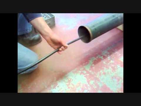 120mm Mortar Barrel Cleaning