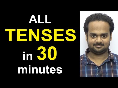 Learn ALL TENSES Easily in 30 Minutes - Present, Past, Future   Simple, Continuous, Perfect