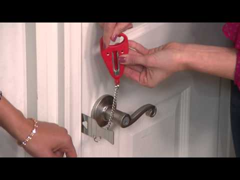 video Portable Hotel Door Lock