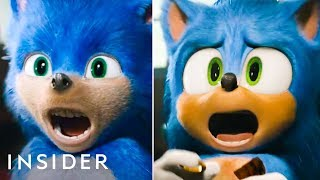 All The 'Sonic The Hedgehog' Design Changes They Made For The Live Action Film   Pop Culture Decoded