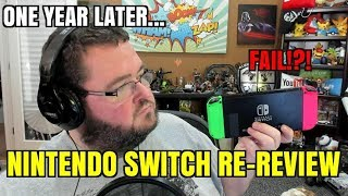One Year Later Nintendo Switch 2018 Re-Review!