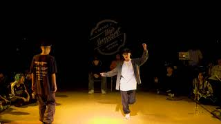 Wolley vs Q-Vo / Hiphop MVP Battle / New Impact vol.2