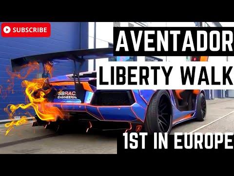Europe's 1st Liberty Walk Lamborghini Aventador by SBR