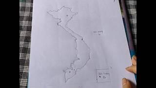 Vẽ bản đồ Việt Nam . Chung tay bảo vệ chủ quyền biển đảo VIỆT NAM #Kids#TV