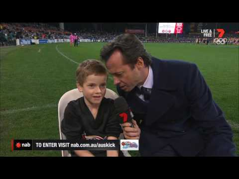 2016 NAB AFL Auskicker of the Year – Rd 15 Nominee