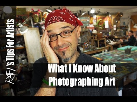 Photographing My Art Tips For Artists