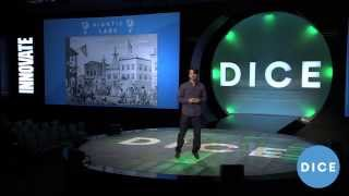 "Niantic Labs' John Hanke - ""Adventures on Foot"" - D.I.C.E. 2014 Summit"