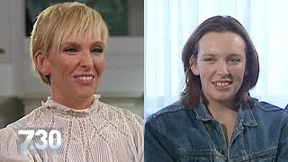 Toni Collette 21 years after Muriel's Wedding