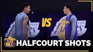 Lonzo Ball vs. Kyle Kuzma: Half-Court Shots