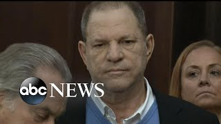 Harvey Weinstein charged with 2 counts of rape and a criminal sex act