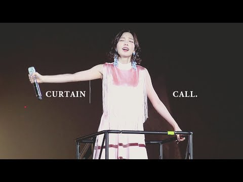 170513 태연 - Curtain Call @ PERSONA in SEOUL