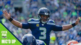 Russell Wilson Mic'd Up Week 1 vs Bengals | 2019 Seahawks Saturday Night