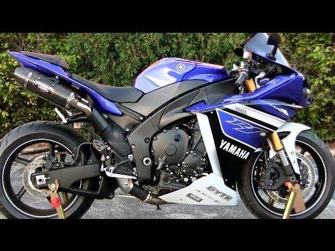 Yamaha R1 2013 Blue