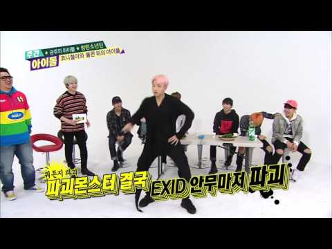 Kpop Boy Groups Dancing Kpop Girl Group ( EXO , BTS , GOT7 ....ect .. )