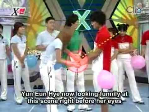 #41 Balloon game - Kim Jong Kook vs Stephanie.flv