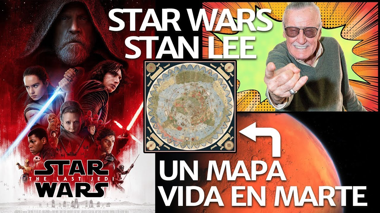 cine,  youtuber,  stan lee,  star wars,  marte,