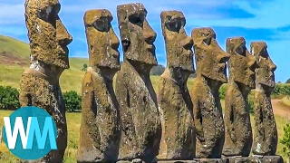 Top 10 Most MYSTERIOUS Places on Earth