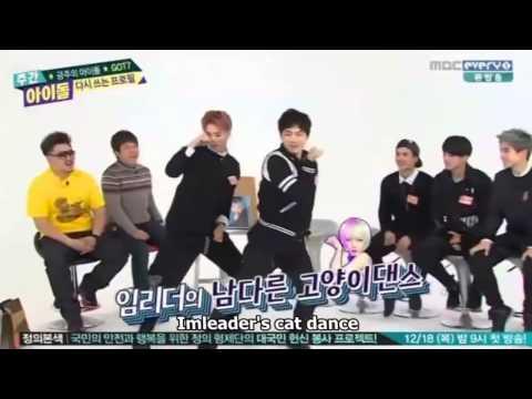 GOT7 Girl Group Dance Cut - Weekly Idol 141217 (ENG SUB)