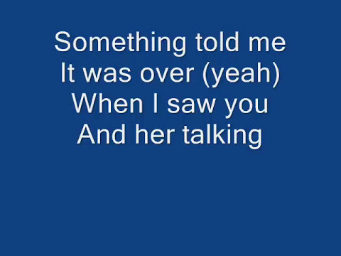 Beyonce - I'd rather go blind lyrics