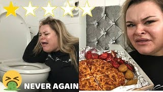 Eating The Worst Reviewed Takeaway Restaurant In MY CITY!! | *never again*