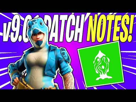 patch notes fortnite 9.10
