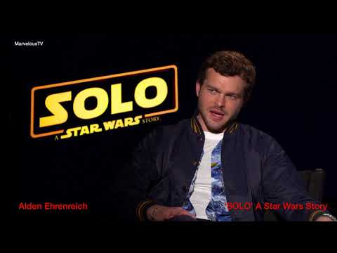 EXCLUSIVE!!!!  Alden Ehrenreich has the knack with directors 'SOLO' A Star Wars Story