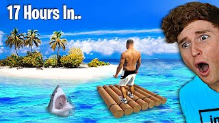 Surviving 24 HOURS On A Stranded Island In GTA 5.. (Mods)