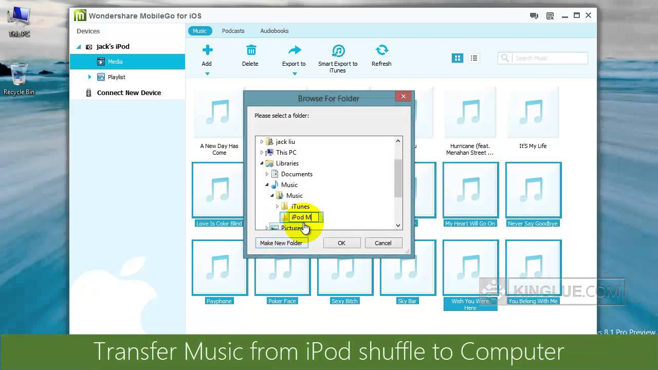 how to import music from computer to iphone how to transfer from ipod shuffle to computer and 20901