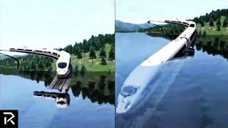 Why Dubai Built An Underwater Floating Train