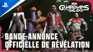 Marvel's guardians of the galaxy :  bande-annonce