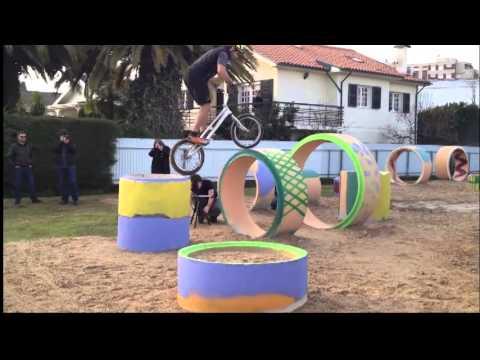 Inauguracao do trial park bike felgueiras com BENITO ROS