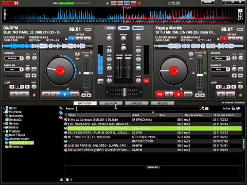 Mezclando En Vivo Reggaeton 2011 Virtual DJ 7 Dj Daryl
