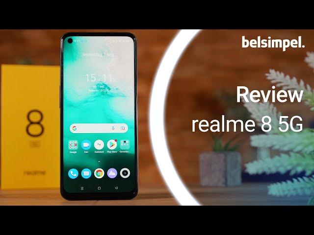 Belsimpel-productvideo voor de Realme 8 5G 128GB Blauw
