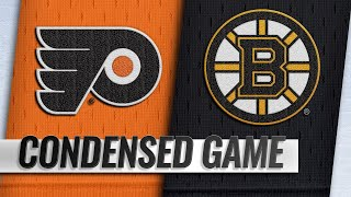 09/29/18 Condensed Game: Flyers @ Bruins