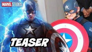 Avengers Evil Captain America First Look Teaser Breakdown - Marvel Phase 4