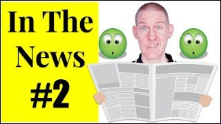 🍎 In The News #2 | Let's Explore The News | LIVE English Lesson