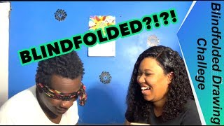 Ben and Cin | BLINDFOLDED DRAWING CHALLENGE