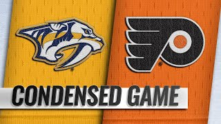12/20/18 Condensed Game: Predators @ Flyers