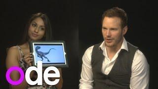 Jurassic World: Chris Pratt and Bryce Dallas Howard take dinosaur test