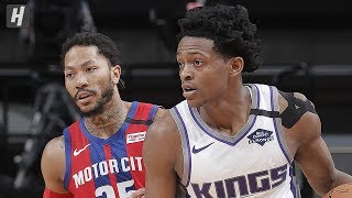 Detroit Pistons vs Sacramento Kings - Full Game Highlights | March 1, 2020 | 2019-20 NBA Season