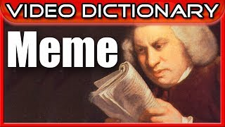 Meme (n.) - From Santa Claus to TrollFace.jpg - The Video Dictionary