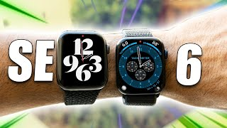 Apple Watch Series 6 vs SE THIS IS THE REAL DEFFERENCE!