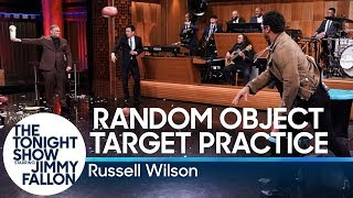 Random Object Target Practice with Russell Wilson