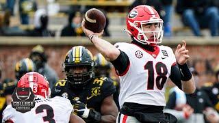 Georgia Bulldogs vs. Missouri Tigers | 2020 College Football Highlights