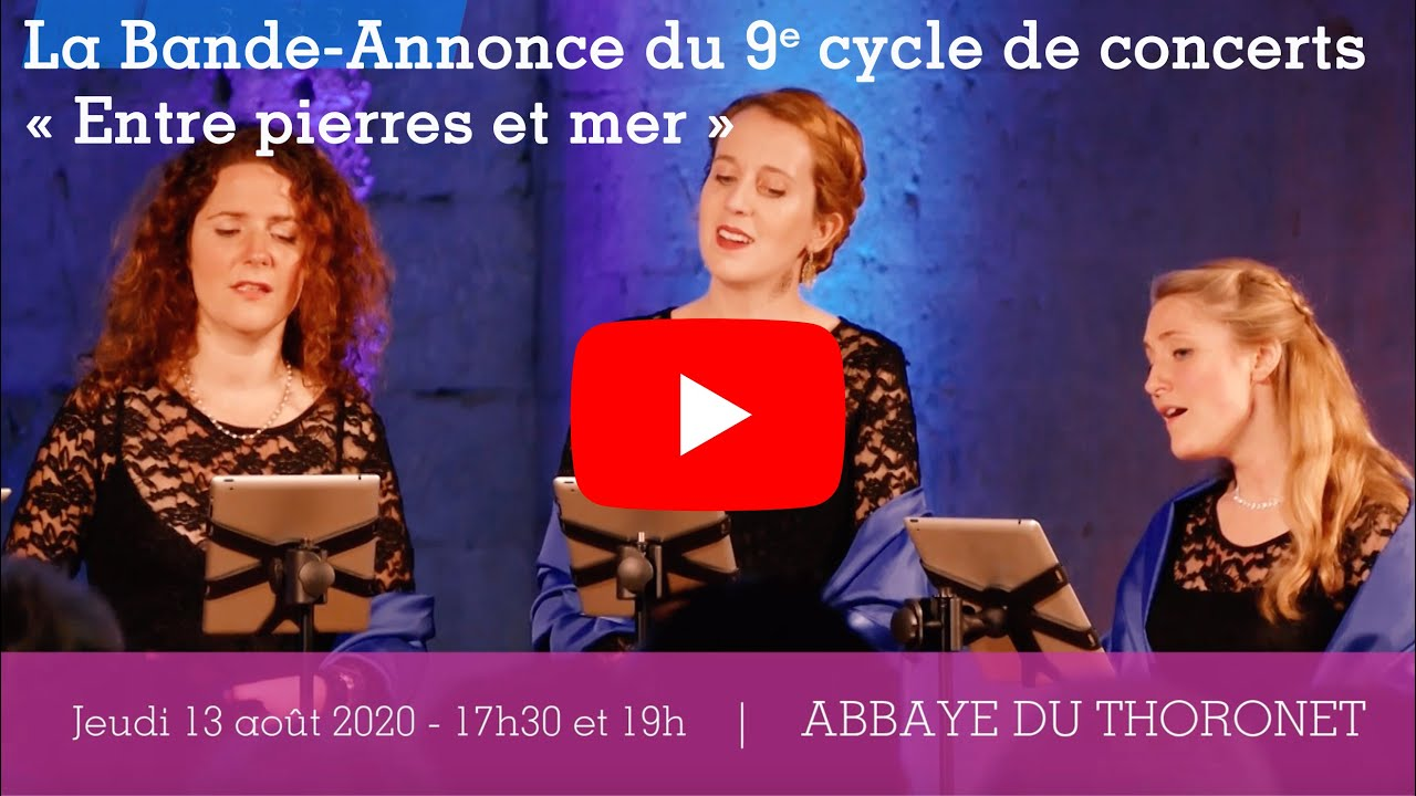 "video La bande-annonce du 9e cycle de concerts ""Entre pierres et mer"""