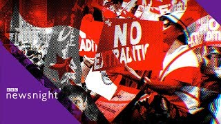 Hong Kong protests: 'No one safe' under extradition - BBC Newsnight