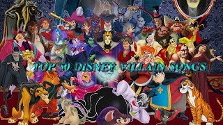 Top 50 Disney villain songs