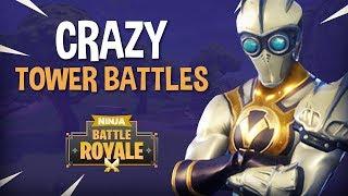 Crazy Tower Battles!! - Fortnite Battle Royale Gameplay - Ninja