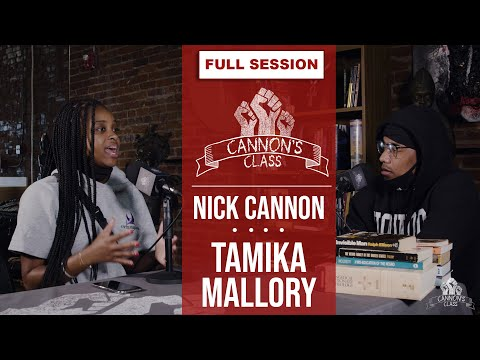 Tamika Mallory w Nick Cannon on Cannon's Class discussing Breonna Taylor